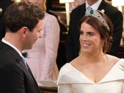 Princess Eugenie Bravely Shows Off Her Scoliosis Scar With Open-Back Royal Wedding Dress