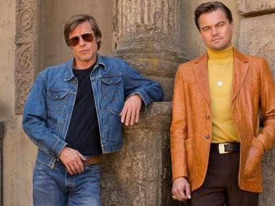 Once Upon a Time in Hollywood Poster: DiCaprio & Pitt In 1969