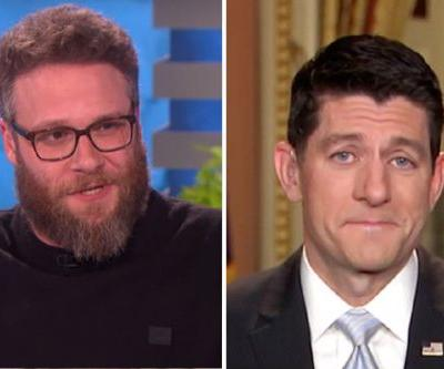 Seth Rogen Says 'No Way' To Picture With House Speaker Paul Ryan
