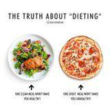 1 Salad Vs. 1 Pizza: This Instagram Photo Makes the Point That Dieting Doesn't Work This Way