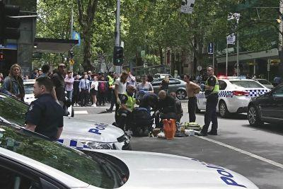 At least 3 dead after car intentionally plows into crowded Australian street