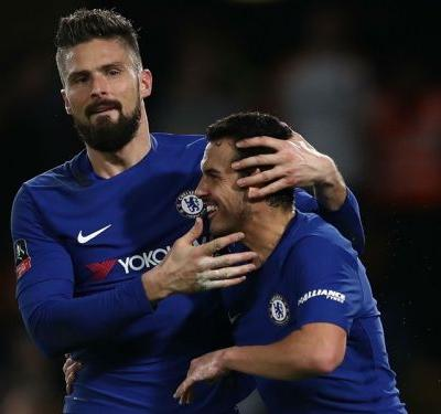 Giroud 'relieved' to get first Chelsea goal in FA Cup win over Hull