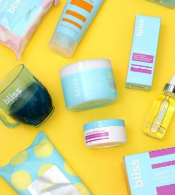 Bliss Got a Makeover! (Yes, the Iconic '90s Skin Care and Spa Brand)