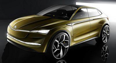 Skoda Vision E Concept Coming To Shanghai With Electric Power And Autonomous Features