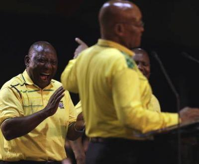 South Africa's ruling ANC party prepares to elect new leader