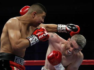 Jaime Munguia defends WBO super welterweight title with unanimous decision over Liam Smith