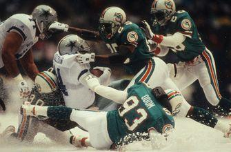 Snow in Dallas? Troy Aikman and Jimmy Johnson relive their most memorable Thanksgiving game