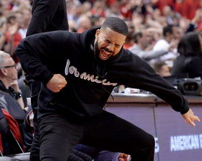 Drake was so happy throughout Raptors' Game 6 win over Bucks