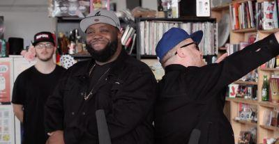 Do More With Your Life and Watch Run the Jewels' Tiny Desk Performance