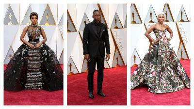 And The Winner For Best Dressed On The Oscar Red Carpet Is