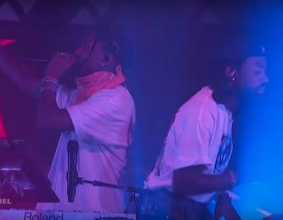 "Watch Blood Orange Debut ""Chewing Gum"" With A$AP Rocky & Project Pat On Kimmel"
