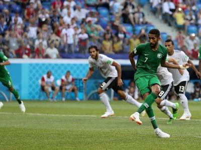 Latest Russia 2018 penalty equals World Cup record