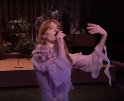 Watch Florence + The Machine's Theatrical, Exciting Tonight Show Performance