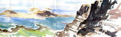 Sketching Trip in Lanzarote: Day 1