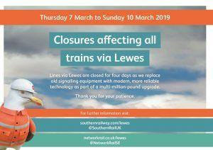 Buses To Replace Trains On Two Working Days Through Lewes As £25m Signalling Upgrade Is Completed