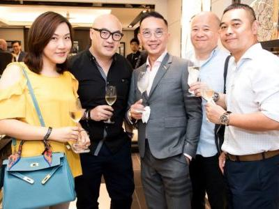 Gallery: IWC's Silver Spitfire exhibition opening party