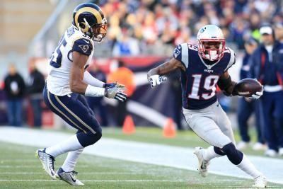 New England Patriots release WR Malcolm Mitchell