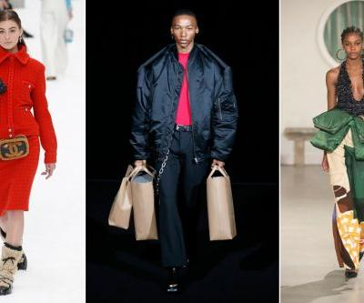 Carrying multiple handbags is high fashion now