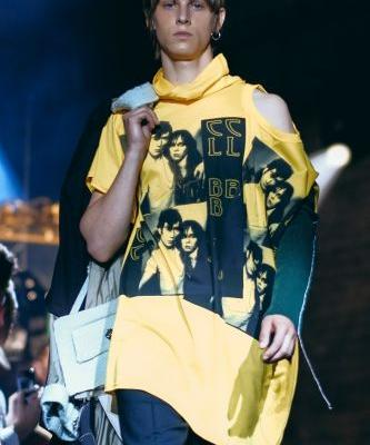 Raf Simons mashes up punk, new wave, and teen drinking at latest show
