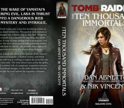A Little Look at Lore: Tomb Raider: The Ten Thousand Immortals
