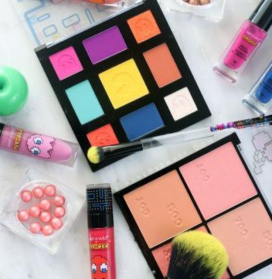 Wet n wild x Pacman Collection Review & Swatches