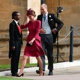 Prince William and Kate Middleton Show Sweet, Rare PDA at Princess Eugenie's Wedding