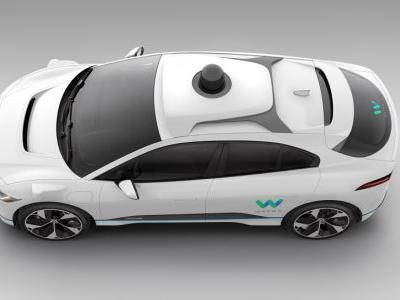 Here's Your Early Look at Waymo's Next Self-Driving Car: The Jaguar I-Pace