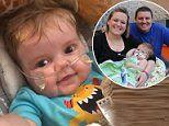 Five-month-old receives heart-lung transplant an is youngest in 10 years to undergo the surgery