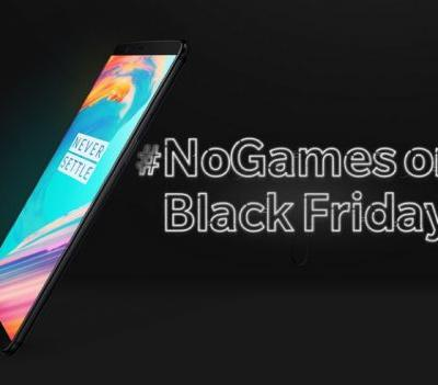 OnePlus 5T Reduced By 1p For Black Friday