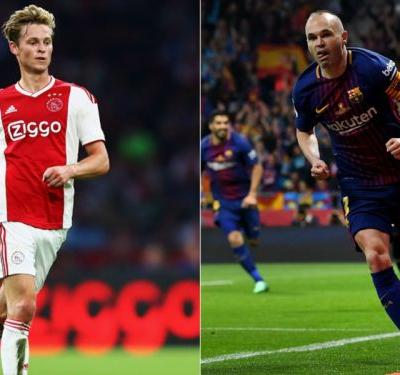 'De Jong more Iniesta than Busquets' - Ajax scout sings praises of Barcelona's €86m new boy