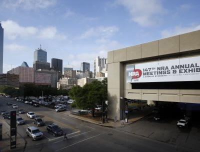 More than 70,000 NRA members expected in Dallas for meeting