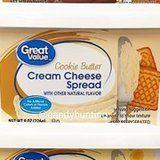 Cue the Drooling! Walmart Has a Cookie Butter Cream Cheese That Looks Scrumptious