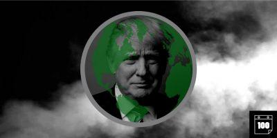 One hundred days on Planet Trump