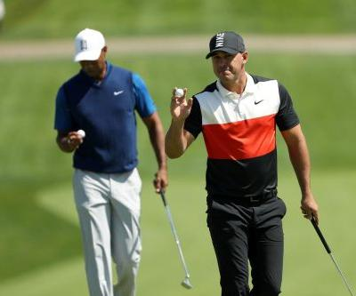 Brooks Koepka has record-setting round on opening day of PGA Championship