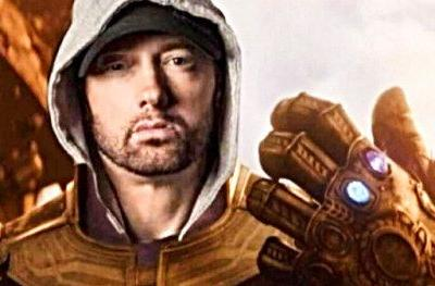 Eminem Snaps MGK Out of Existence in Infinity War Inspired Diss