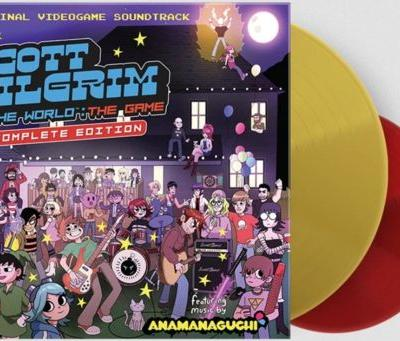 Scott Pilgrim soundtrack vinyl re-release available at Limited Run Games
