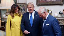 Donald Trump Mingles With Royalty, Minus Meghan Markle And Harry