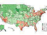 Map shows where people are hypochondriacs
