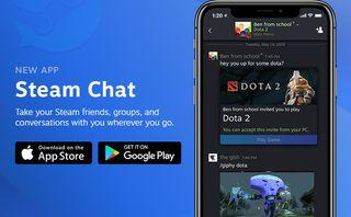 Valve brings Steam Chat app to iOS and Android