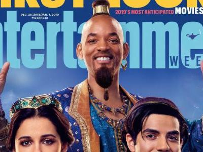 Live-Action Aladdin Images Reveal Will Smith as the Genie