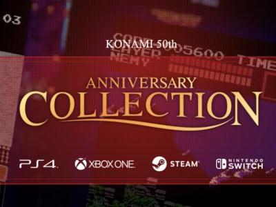 Konami Announces Anniversary Collections for Contra, Castlevania, and Arcade Classics