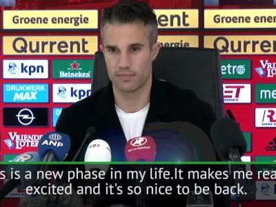 This is a new phase in my life - Van Persie on move back to Feyenoord