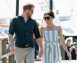 Prince Harry and Meghan Markle Showered With Baby Gifts During Sunny Outing to Fraser Island