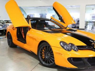 Buy This Mercedes SLR McLaren 722S If You Love Halloween Every Day of the Year