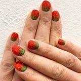 Strawberry Nail Art Is the Most Delicious New Trend of the Summer