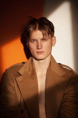 Exclusive: Introducing Adam Pine by Brent Chua