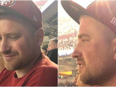 A body that was found floating in the San Francisco Bay has been identified as a man who went missing during a 49ers game 5 days earlier