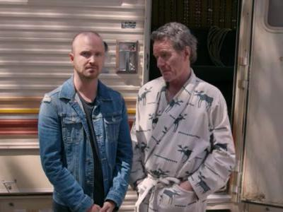 Bryan Cranston And Aaron Paul Get Hilariously Weird For Breaking Bad Reunion Video