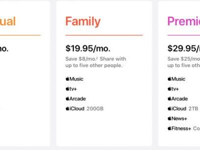 Apple One Bundles Plans Available to Purchase This Fall