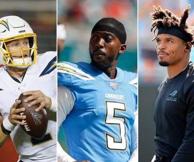 Chargers' faith in Tyrod Taylor, Easton Stick explains Cam Newton snub